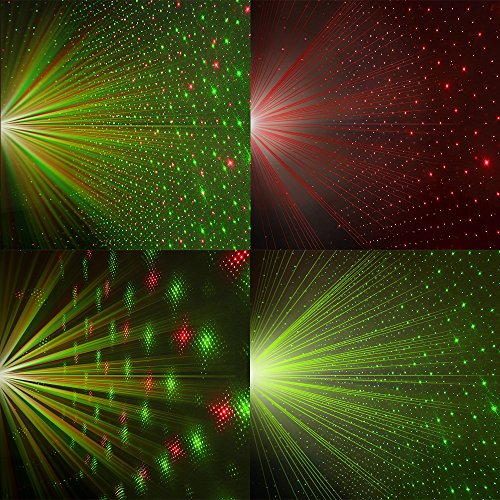 Innoolight laser christmas lights show red and green ip65 for Lumiere decoration interieur