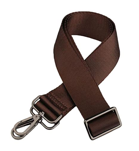 22aca2b164 Adjustable Replacement Shoulder Strap for Bags - Coffee  Amazon.co.uk   Kitchen   Home