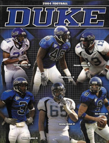 (2004 Duke Blue Devils Football Media Guide)