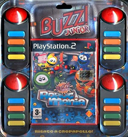 Buzz!Junior:Robot Mania+Buzzer: Amazon.es: Videojuegos