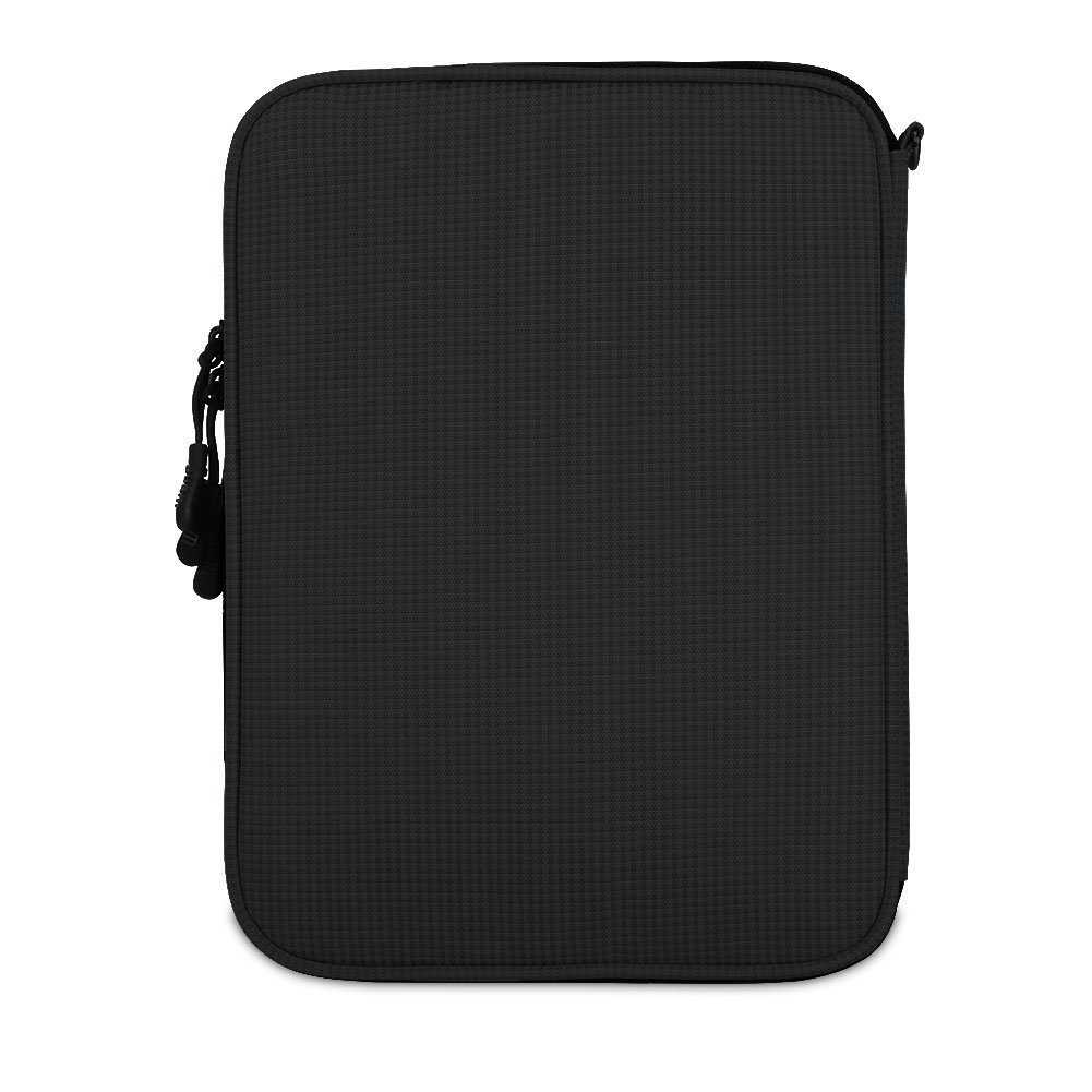 BUBM Travel Electronics Organizer, Double Layer Cable Organizer Bag(L, Black)