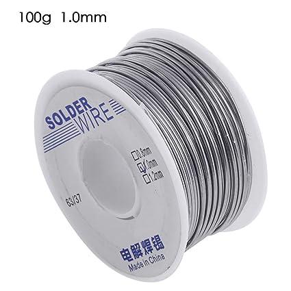 1mm 63//37 Tin//lead Rosin Core Soldering Wire Solder Welding FLUX 2.0/% 200G
