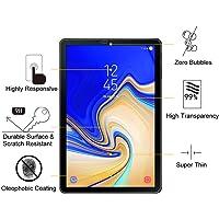 TEKNET Protector Mica Cristal Templado para Samsung Galaxy Tab S4 SM-T830 Wi-Fi, SM-T835 4G LTE 10.5 Pulgadas 2018