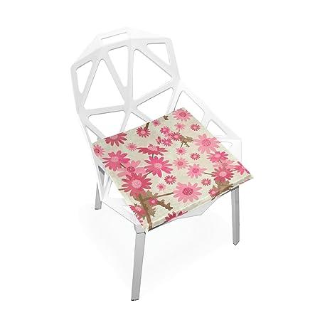 Amazon.com: Plao almohadilla de asiento de cojín rosa ...