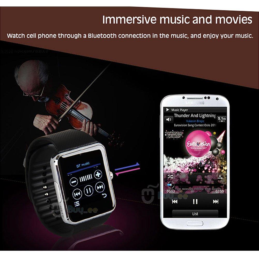 Buyee® GT08 Bluetooth SmartWatch für Samsung iphone HTC Android ...