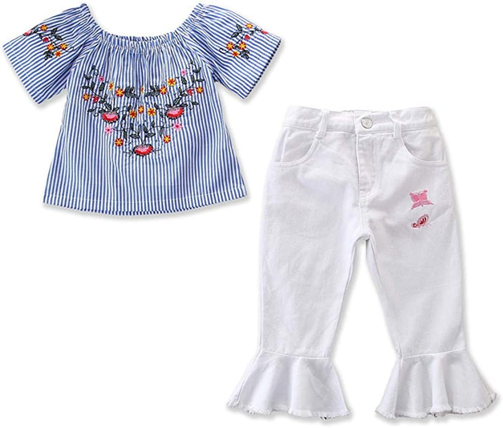 Shorts 2pc Summer Outfit Kehen Infant Baby Toddler Girl Boy Easter Clothes Short Sleeve Rabbit Print T-Shirt