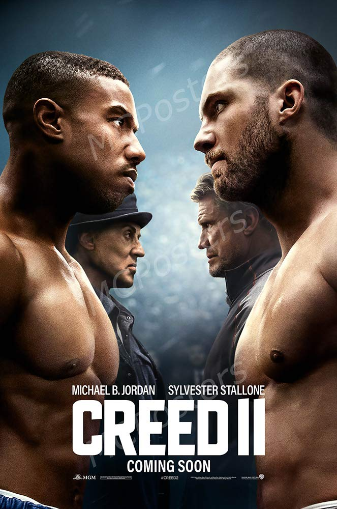 "MCPosters - Creed II Rocky Glossy Finish Movie Poster - MCP556 (24"" x 36"" (61cm x 91.5cm))"