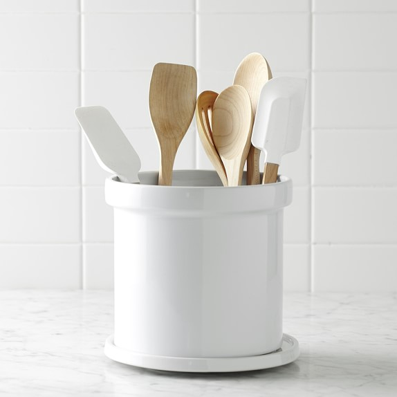 Ceramic Partitioned Utensil Holder | Williams-Sonoma​