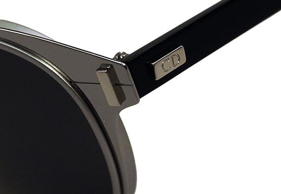 Christian Dior - Dior Depth 01, Rondes, Métal, Homme, Light Ruthenium Black/dark Grey(tcp/y1), 52/19/150