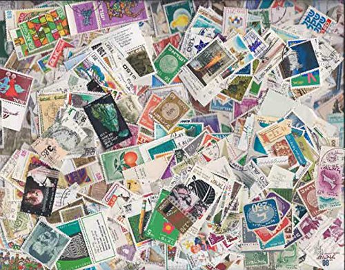 USPS Quality Israel Stamp Collection - 1,000 Different (Israel Stamp Collection)