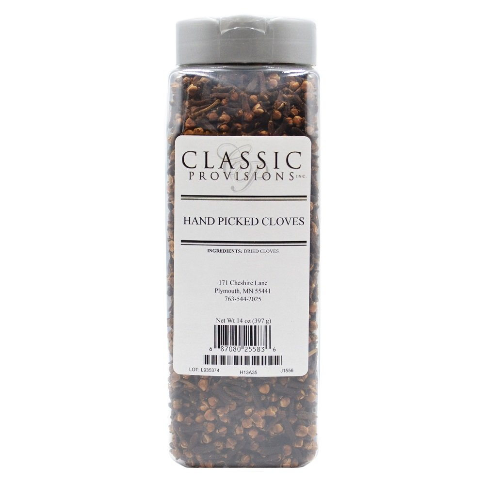 Classic Provisions Spices, Whole Cloves, 14 Ounce by Classic Provisions Spices (Image #1)
