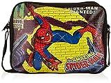 BB Designs Stylish Comics Close Up Design Marvel Spiderman Messenger Bag