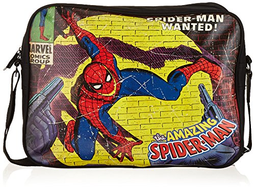 BB Designs Stylish Comics Close Up Design Marvel Spiderman Messenger Bag