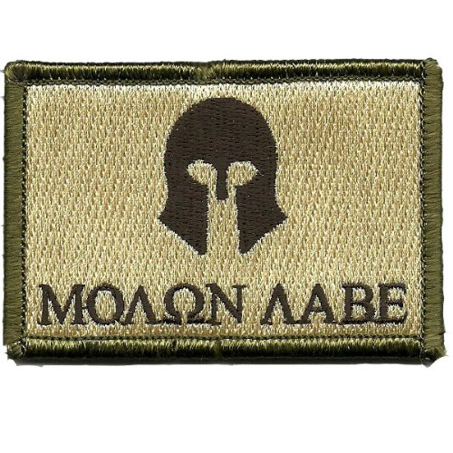 Molon Labe Tactical Patch - Multitan by Gadsden and Culpeper