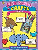 Teacher Created Resources 7061 Bible Stories and Crafts Animals