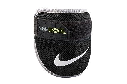 a7d2db1edf8cf Amazon.com: Nike BPG 40 Youth Batter's Elbow Guard (Black/Black ...