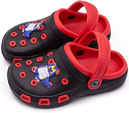 Boys Girls Clogs Sandals Summer Beach Soft Shoes Toddler Kids Pool Slippers Size