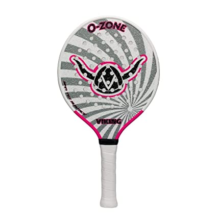 Amazon.com : Viking O-Zone Platform Tennis Paddle-Gray/Pink ...