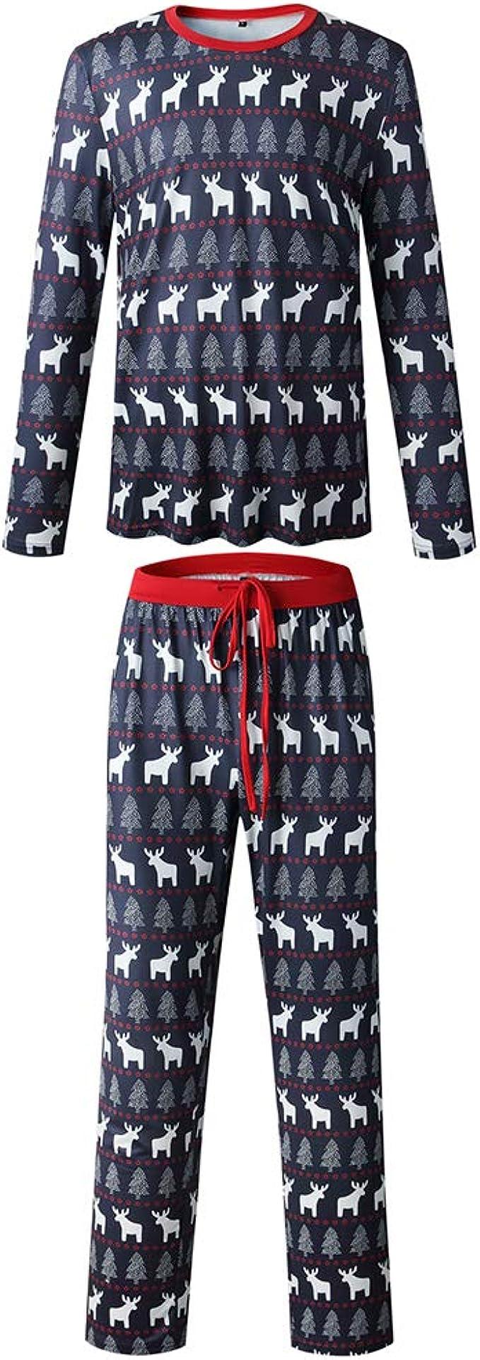 Pijamas Estampados de Navidad para Hombres, Traje de Navidad ...