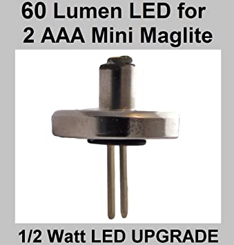 Lampe Maglite Aaa Version Pour 2 De Poche Led Améliorée Mini PZukXi