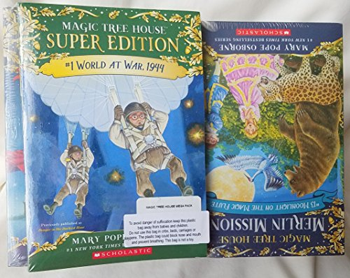 Magic Tree House 53 Book Mega Set - Mary Pope Osborne (28 original Magic Tree House books; 24 Merlin Missions Magic Tree House books; 1 Super Edition)