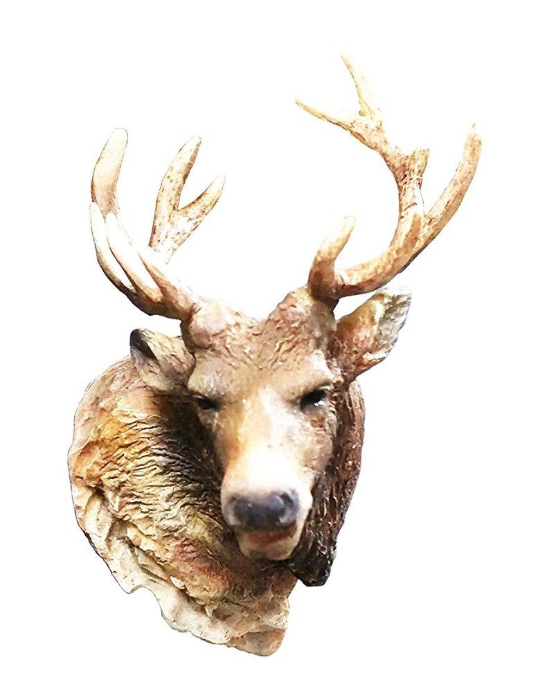 Special 1 Piece Elk Animal Home Fridge Magnet Hunter Hunting Outdoorsman Unique Best Fun Top Popular Dorm Birthday Back To College High School Supplies Accessories Present Kid Mom Dad Grandma Grandpa