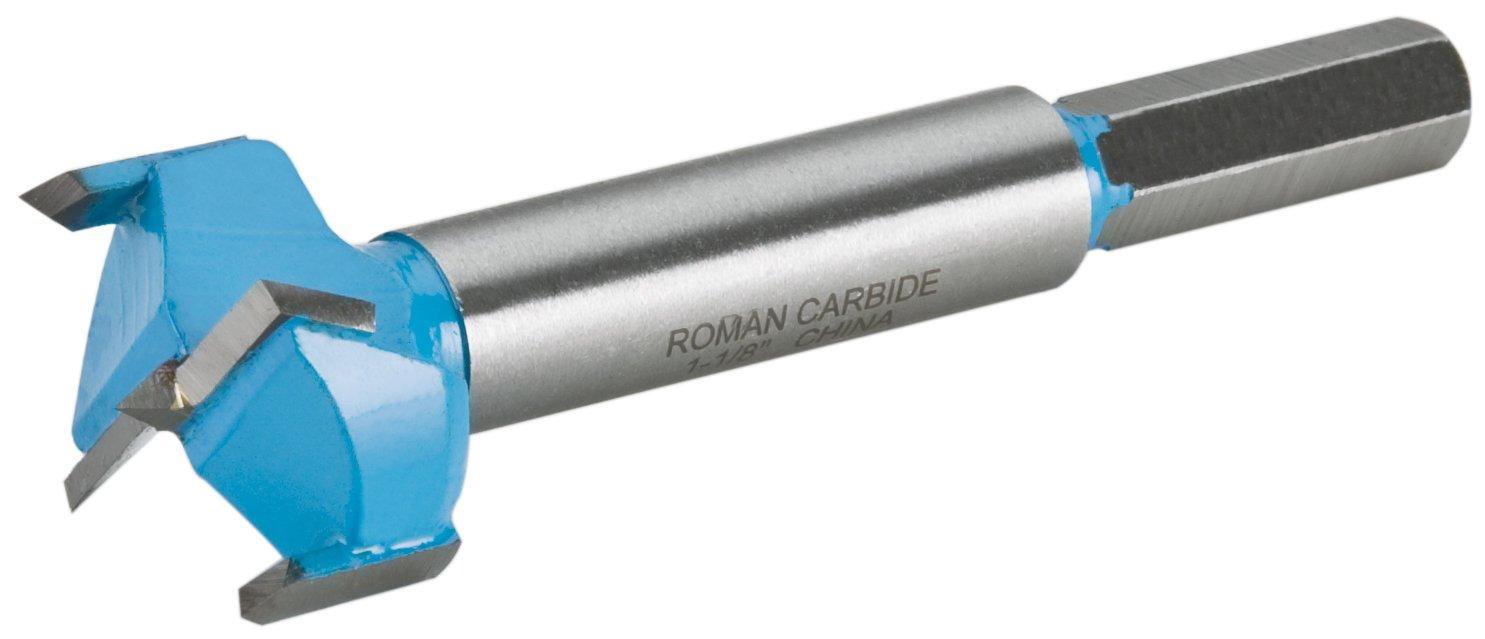 Roman Carbide DC1881 Forstner Bit 3-1//2-Inch