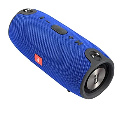 Scheda TF Supporto Funzione di Chiamate Vocali Altoparlante Bluetooth Portatili Porte USB 2.0 3,5 Mm AUX Basso Consumo Energetico 40 W,Supporto Micro USB