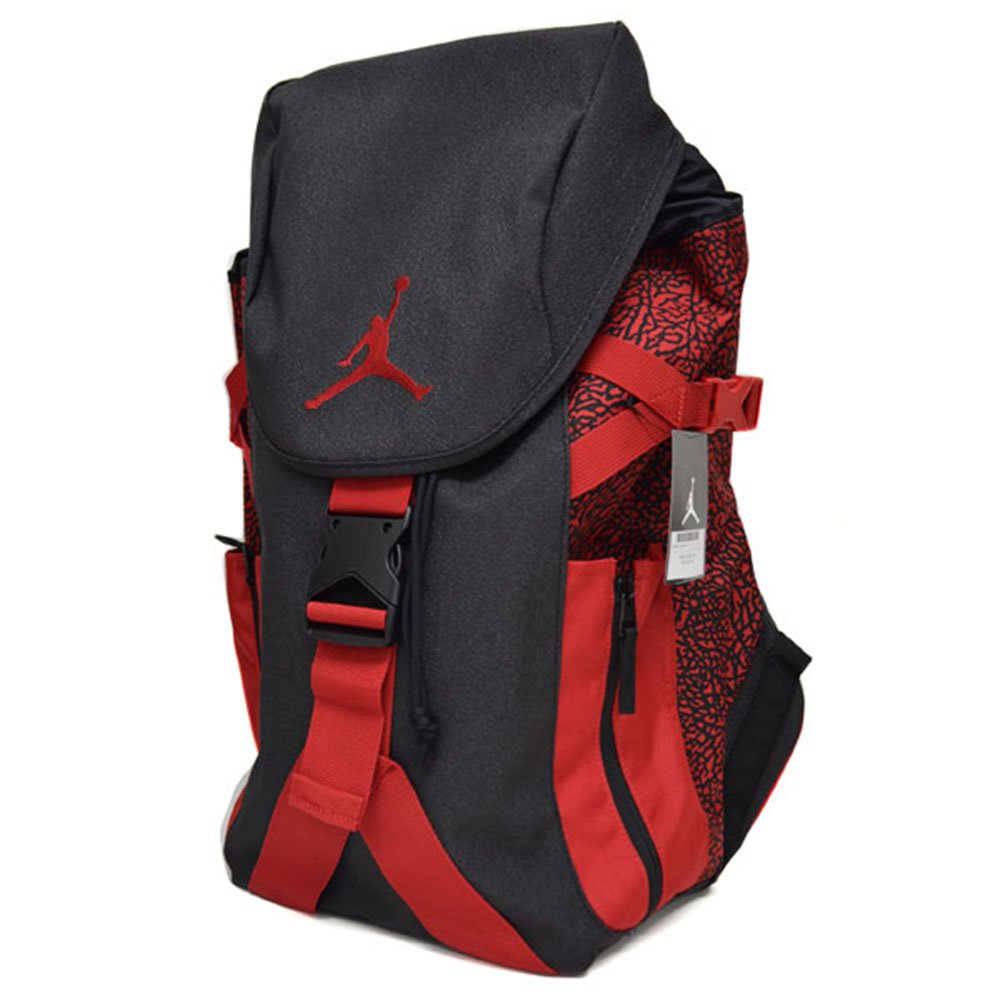 Galleon - Jordan Nike Jumpman Top Loader Carry All Backpack-Black Red ca72ba8d2891e