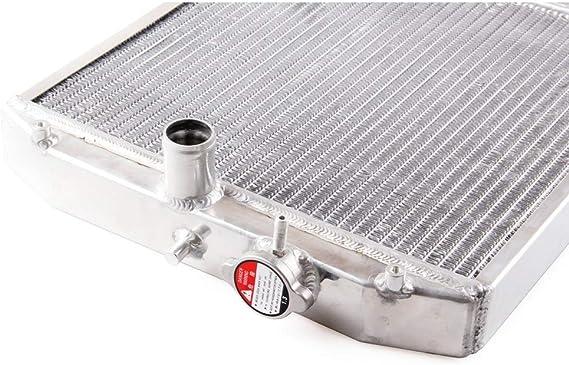 00/H Civic MT EK//Del Sol EG//Integra DC ETbotu de Remplacement pour radiateur Couleur Argent 2/rang/ées JDM Racing v/éhicule de Voiture Radiateur pour 92