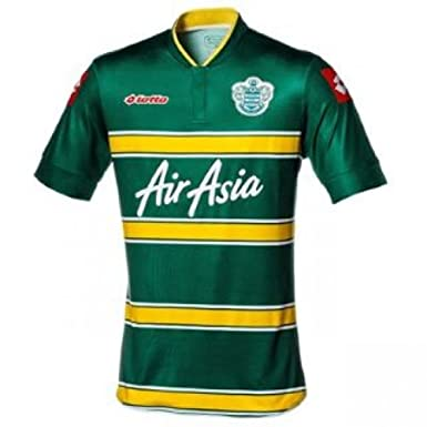 Lotto - Camiseta de Queens Park Rangers (temporada 13/14), color verde y amarillo Green and Yellow Talla:X-Large Adults: Amazon.es: Deportes y aire libre