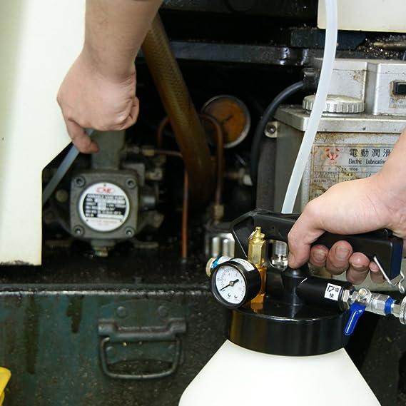 Ajuste Herramientas 8.5L dos manera neumático Motor Gear ATF aceite y líquido Extractor con 5pcs manguera Conjunto: Amazon.es: Bricolaje y herramientas