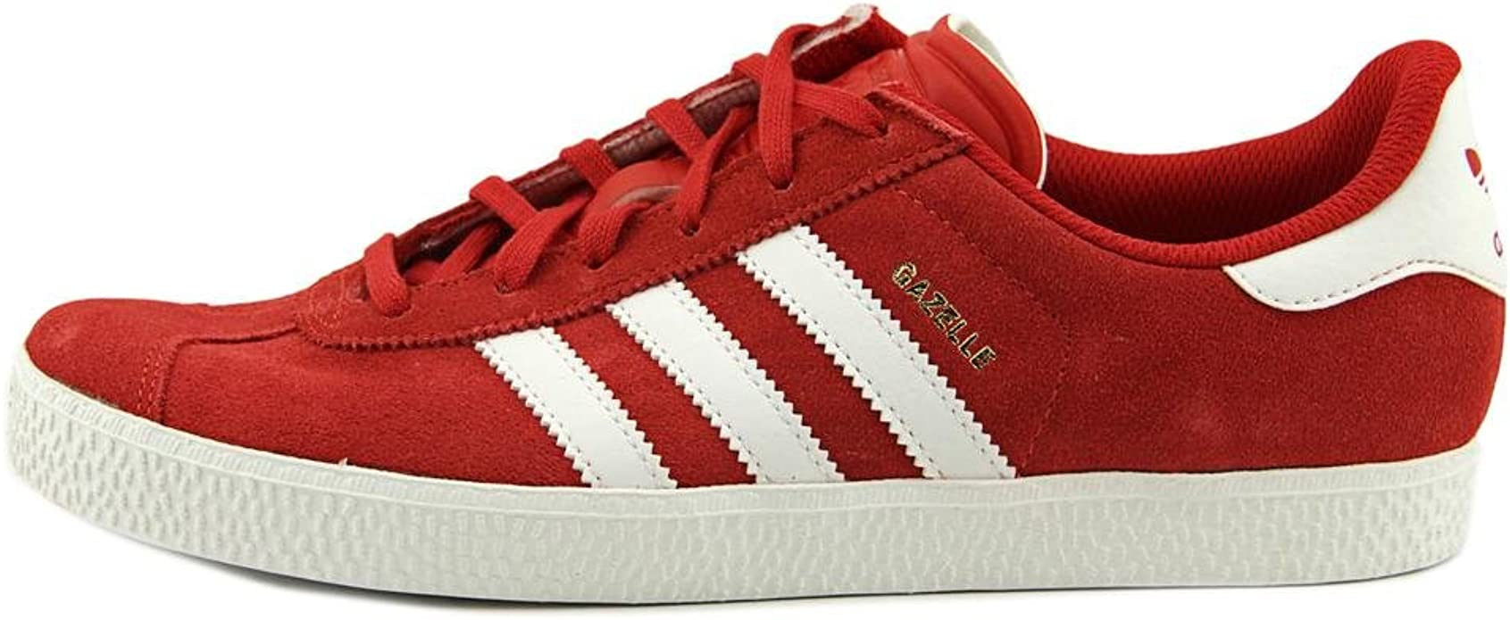 adidas Kids Boys Gazelle 2 Sneakers Shoes - Red