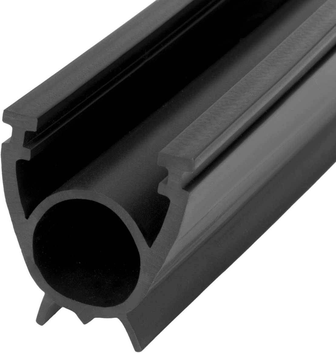 STEIGNER Junta para la Puerta de Garaje SBD01 Negra PVC 33x41 mm, 3 m