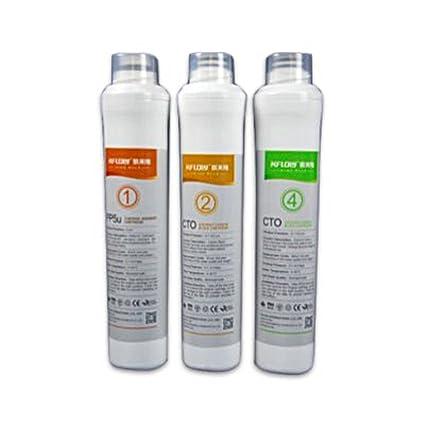 Set Filtro de repuesto para Mobile ósmosis inversa Equipo sin fijo Agua Conector R.O. Pot.