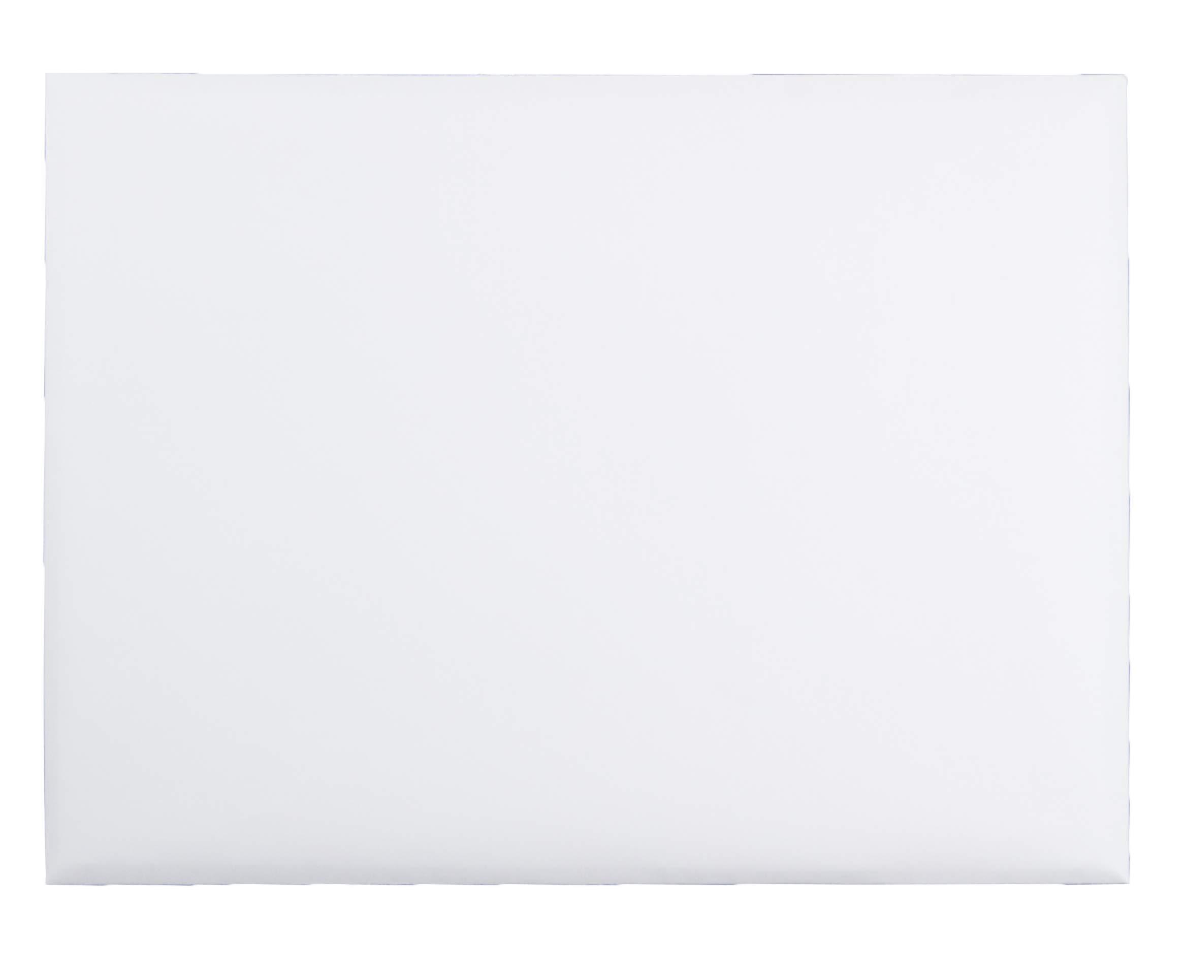 Quality Park Open-Side Booklet Envelope, Gummed, White, 9 x 12, 250 per Box, (37682) by Quality Park