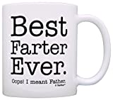 Fathers Day Gifts for Dad Best Farter Ever Oops