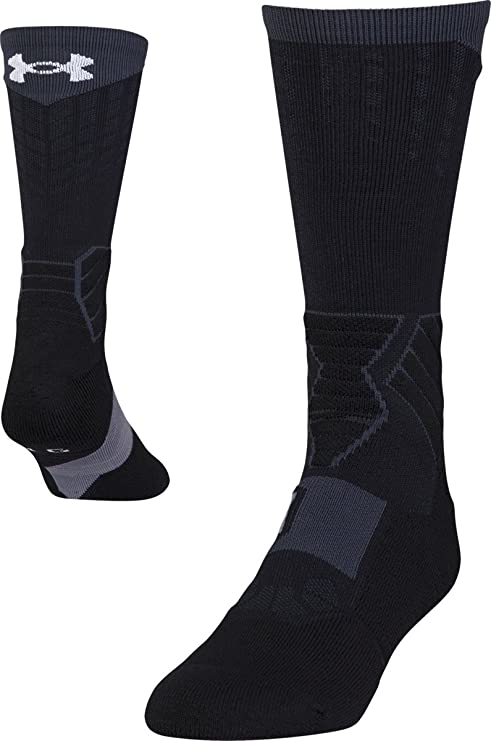 Under Armour Mens Drive Basketball Crew Socks
