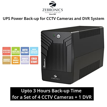 e56ba89394b Core ZEbronics UPS (Power Back-up) for CCTV Camera   DVR System (3 Hours  Power Back-up) - Buy Core ZEbronics UPS (Power Back-up) for CCTV Camera    DVR ...