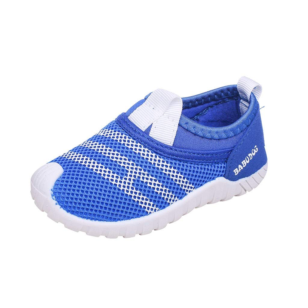 9c8e078ad2d4 Toddler Infant Kids Baby Boys Girls Fashion Casual Mesh Breathable Soft  Bottom Print Colorblock Non-Slip Sneakers Shoes Light Sports Running Shoes  Summer ...