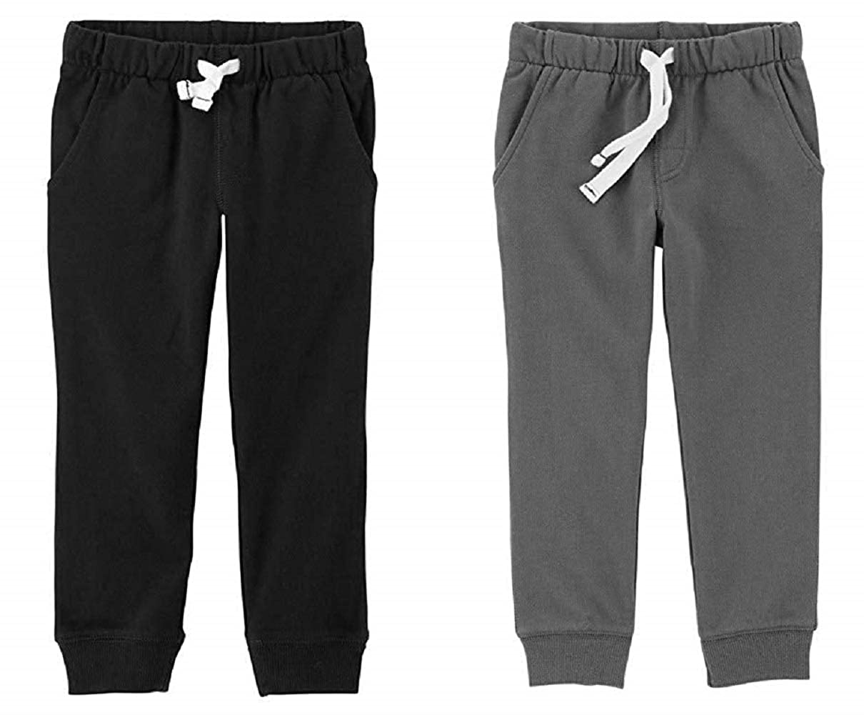 Carters Toddler Boys 2 Pack French Terry Active Joggers//Pants