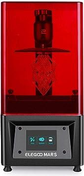 ELEGOOMARSUV光造形式3Dプリンター3DPrinterタッチスクリーン停電リカバリ高精度115x65x150mm(黒色)
