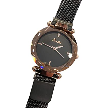 Happyear Womens Quartz Watch with Stainless Steel Mesh Strap Ladies Watch, Relojes Mujer Women Watches