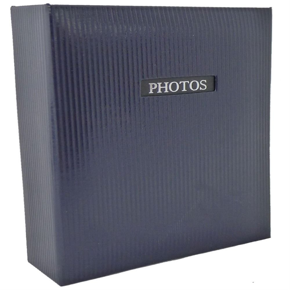 Dorr Elegance Blue 7x5 Slip In Photo Album 200 Side 10x11'' [840326BLU]