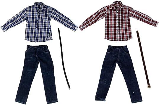 Amazon.es: Sharplace 2 Juegos de 1/6 Pantalones Vaqueros de ...