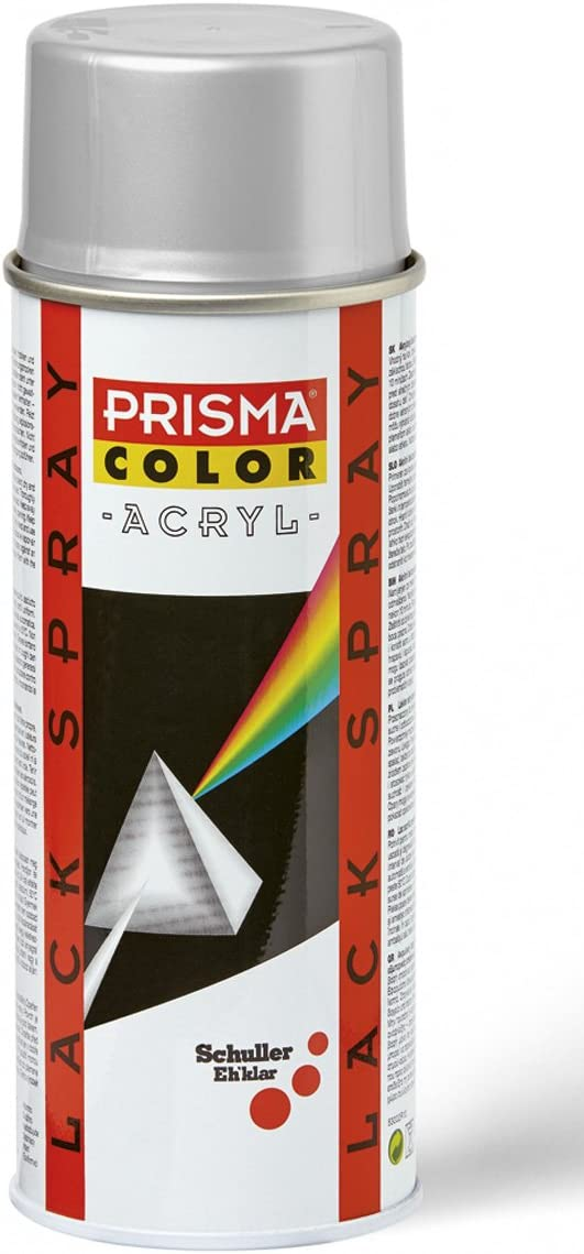 Prisma Color 91346 Lackspray Weißaluminium Ral 9006 400 Ml Baumarkt
