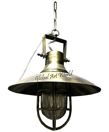 Amazon.com: Global Art World - Lámpara de techo, diseño ...