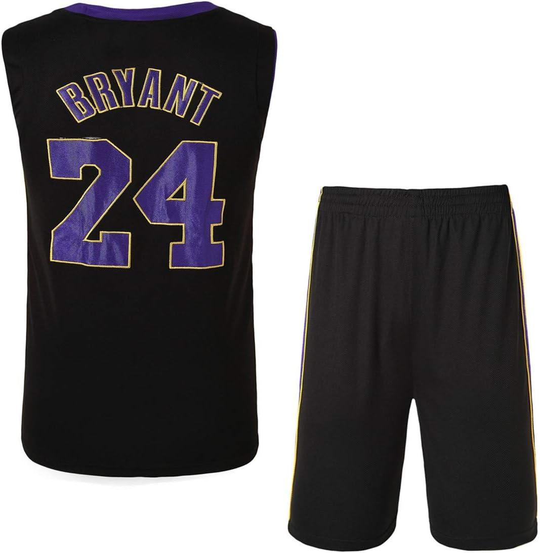 Conjunto De Traje De Baloncesto Kobe Bryant No. 24/No. 8 Bordado ...