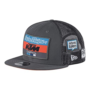 Troy Lee Designs 2018 KTM Team Snapback Hat-Charcoal at Amazon Men s ... 4dc1f29bbd2