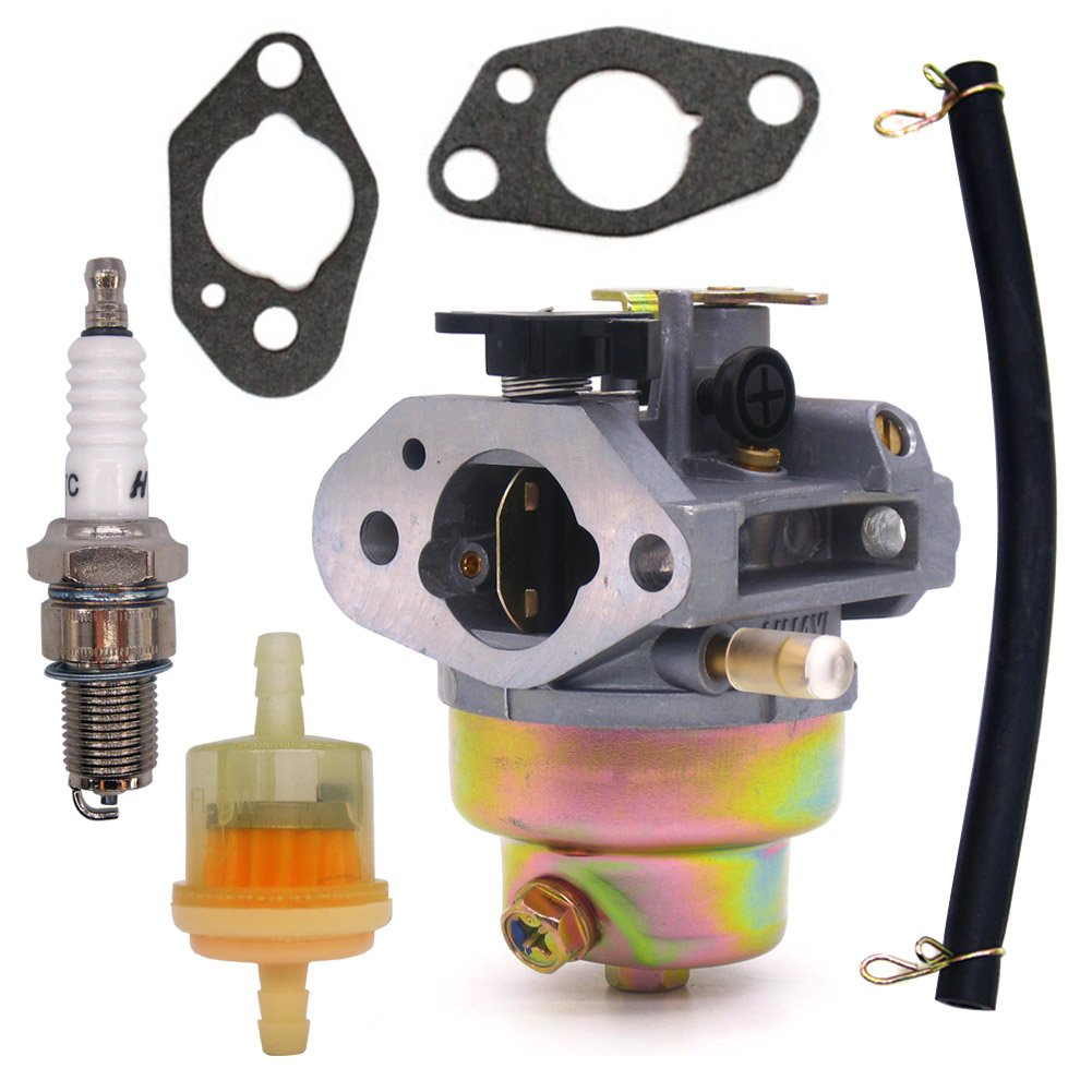Amazon.com: NIMTEK Carburetor W/ Spark Plug Fuel Filter Gaskets Line For HONDA  GCV160 GCV 160 Lawn Mower Carb: Automotive